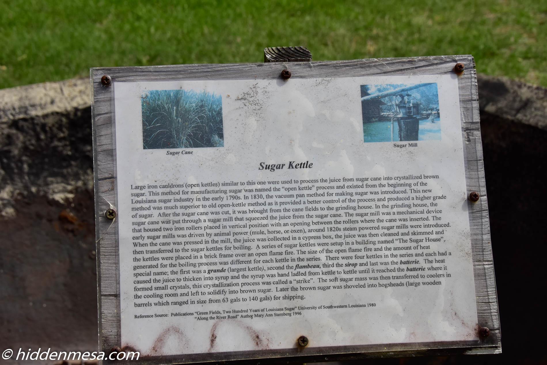 Informational Plaque
