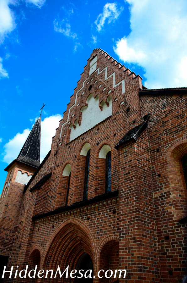 First brick church in Sweden build in 1240