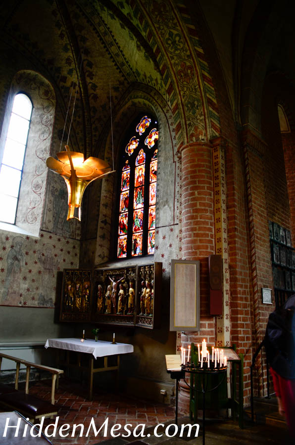 Inside the Brick Church