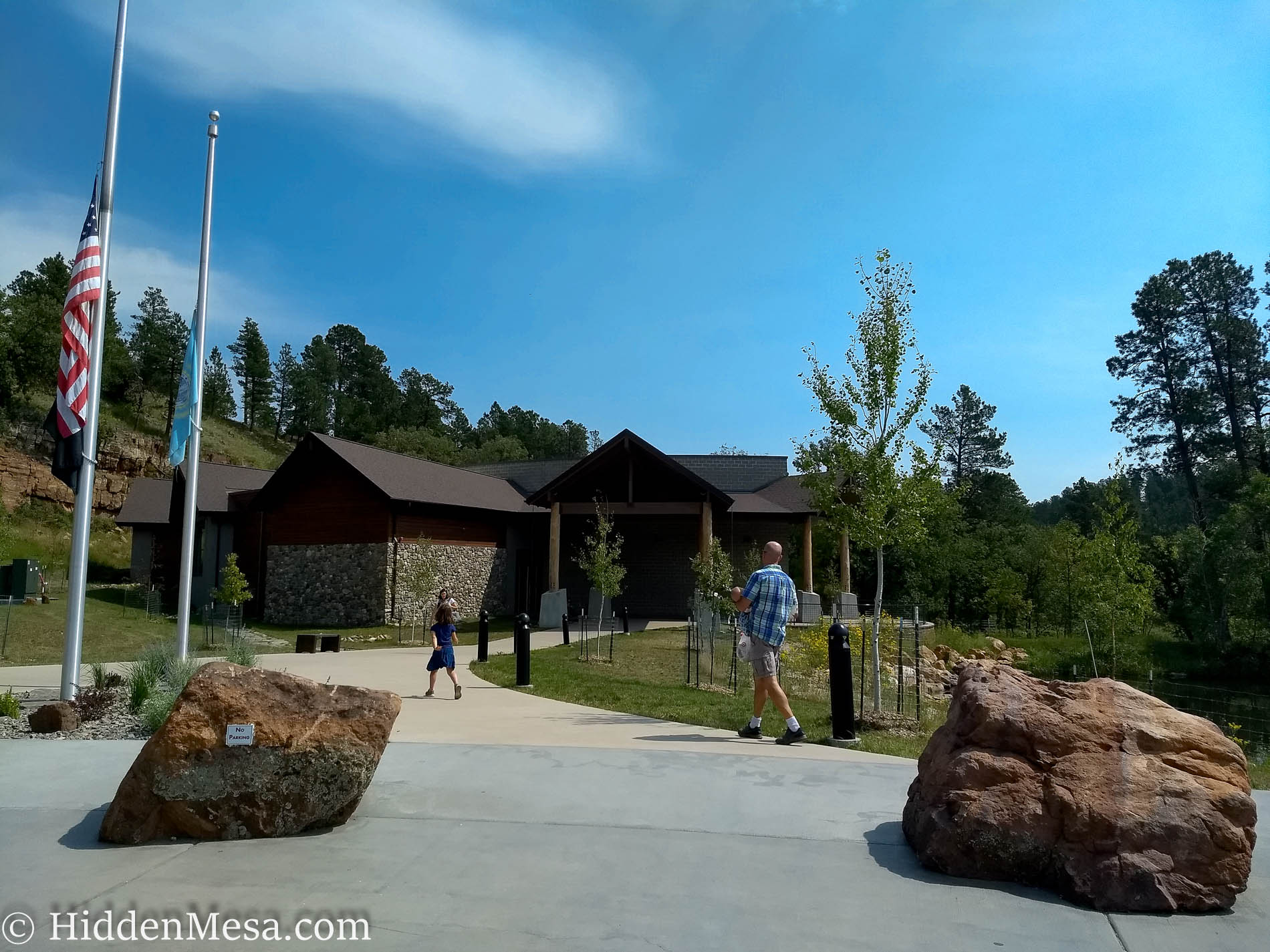 Custer State Park Visitor Center.