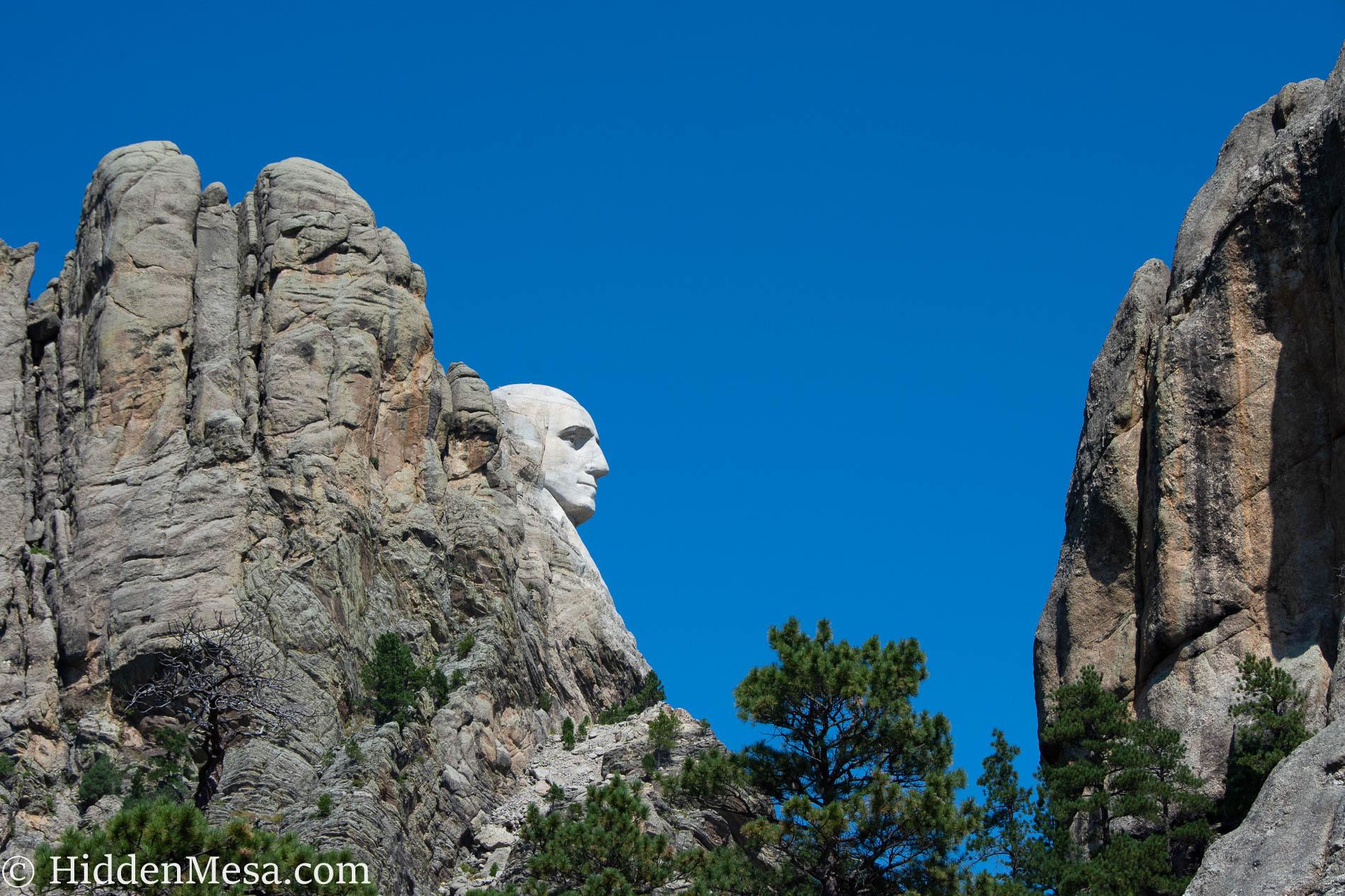 Profile of George Washington