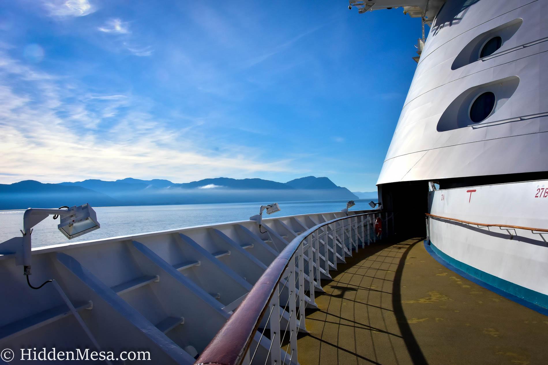 Cruising into Juneau