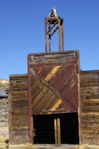 Fire Station, Bodie State Park, California