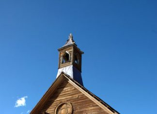 Methodist Church, Bodie State Park, California