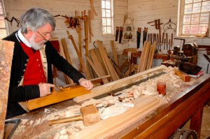 Furniture making in Colonial Williamsburg