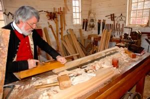 Furniture making in Colonial Williamsburg