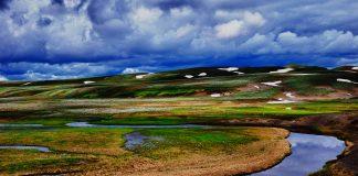 Hayden Valley at Yellowstone