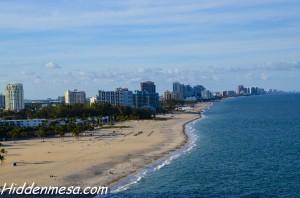 Coastline of Fort Lauderdale