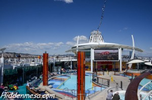 Liberty of the Seas Outdoor Pool