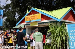 Brazil at the international Food Festival