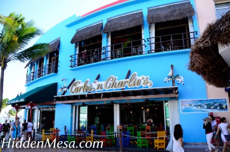 Carlos and Charlies is a popular bar among tourists visiting Cozumel. There are several locations throughout Mexico and the U.S.