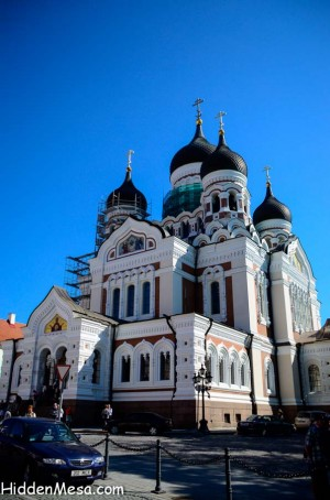 Russian Orthodox church, Alexander Nevsky Cathedral