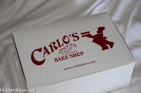 On Nowegian Cruise Line Ships, you can have desert items from Carlo's Bake Shop, Hoboken, New Jersey.