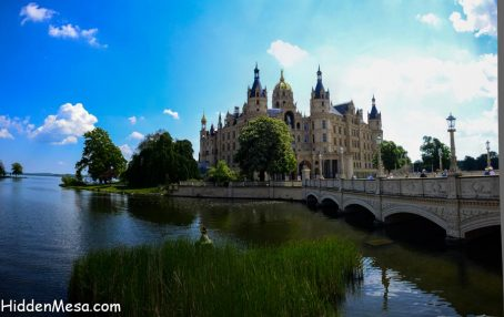 Schwerin Castle dates back to the 10th century in one form or another.