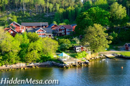 Vacation homes on the islands before Stockholm