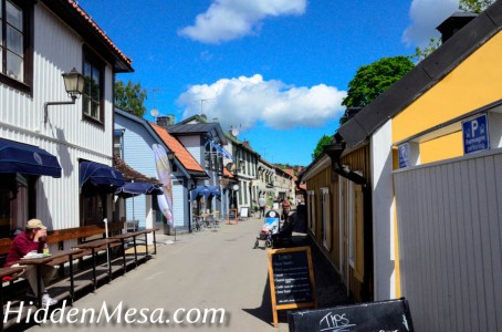 Sigtuna Sweden is a small tourist town founded around 980 AD