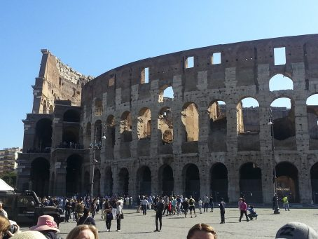 The Colosseum in Rome is a must see if you're visiting. Image by Bonnie Fink