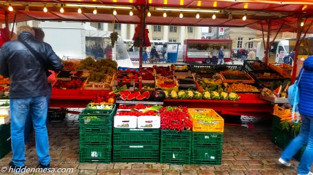 Fruit and Vegetables in Schwein