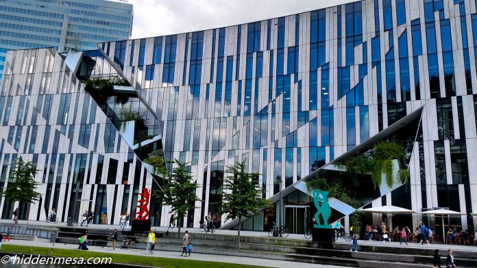 Modern Building in Dusseldorf