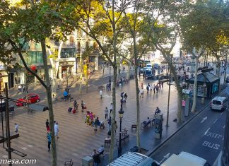 Street View of La Rambla