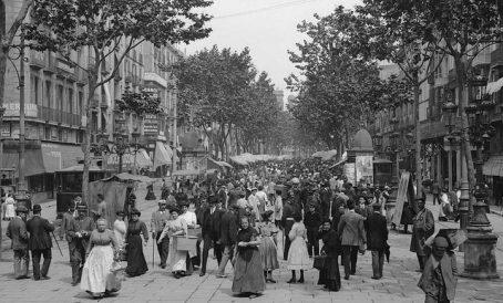 La Rambla 1905
