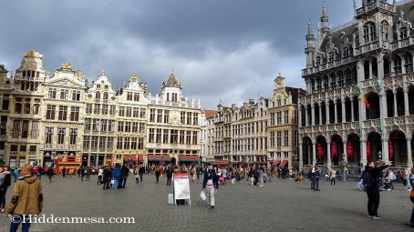Brussels at the Grand Square