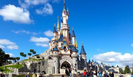 Disneyland Paris Cinderella's Castle