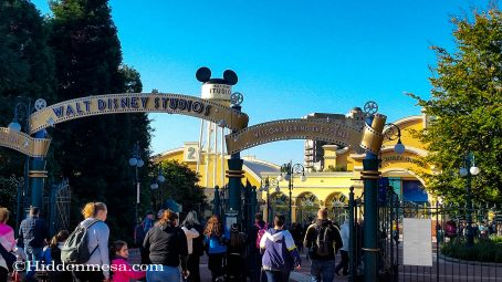 Entrance to Walt Disney Studios