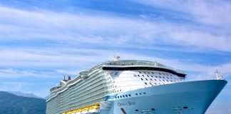 Oasis of the Seas at the Pier at Labadee
