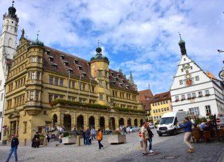 Market Square in Rothenburg