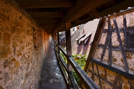 13th Century Wall around Rothenburg
