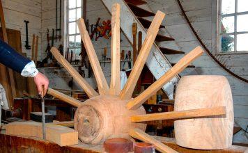 Wagon Wheel Construction