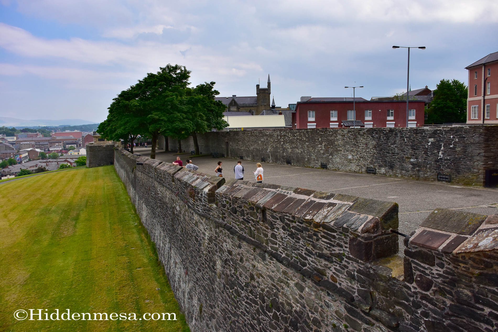 Derry Wall at Market Street