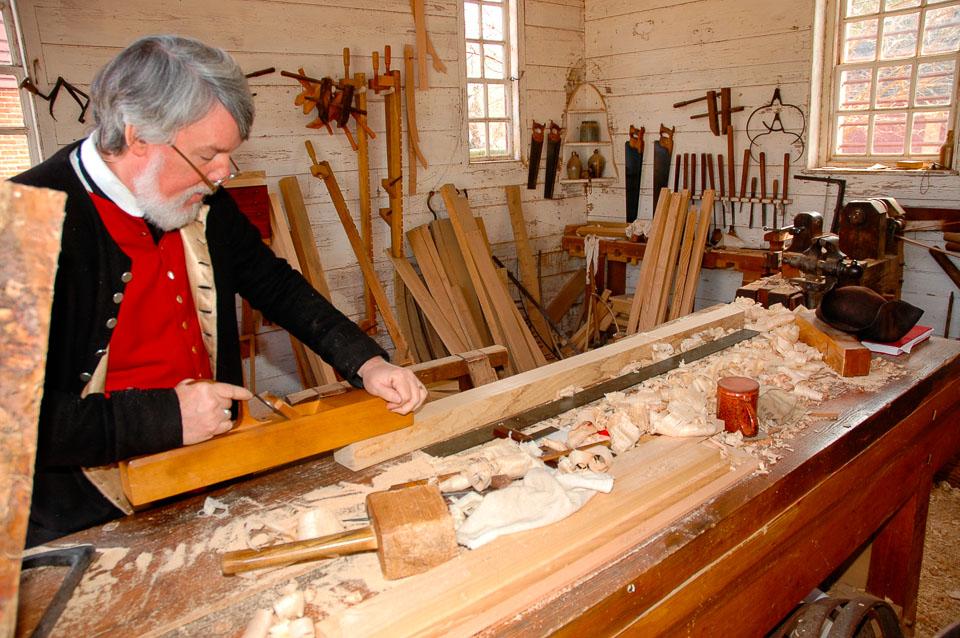 Carpenters in Williamsburg