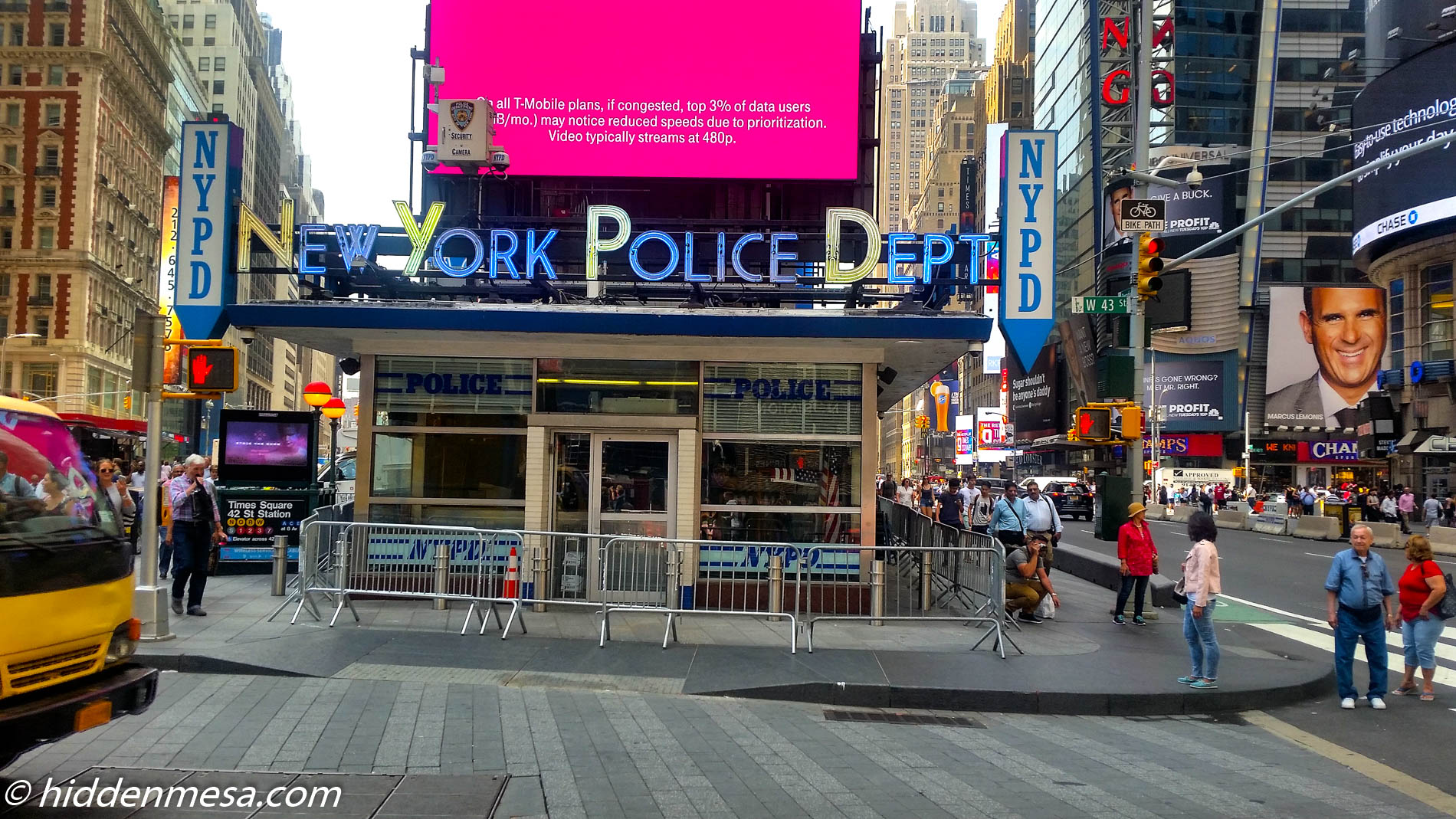 Police Station in Times Square