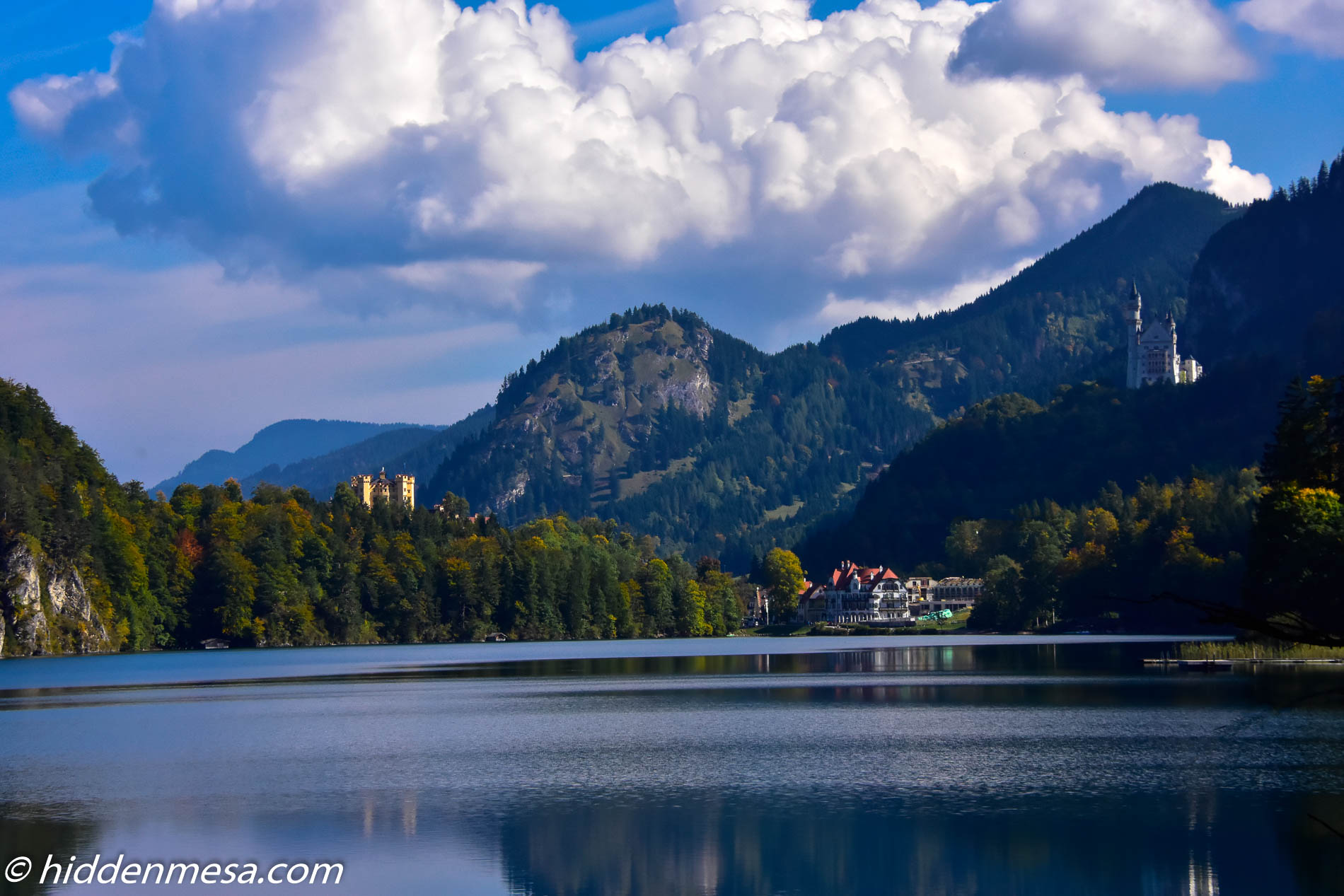 Hohenschwangau Castle and Neuschwanstein Castle.
