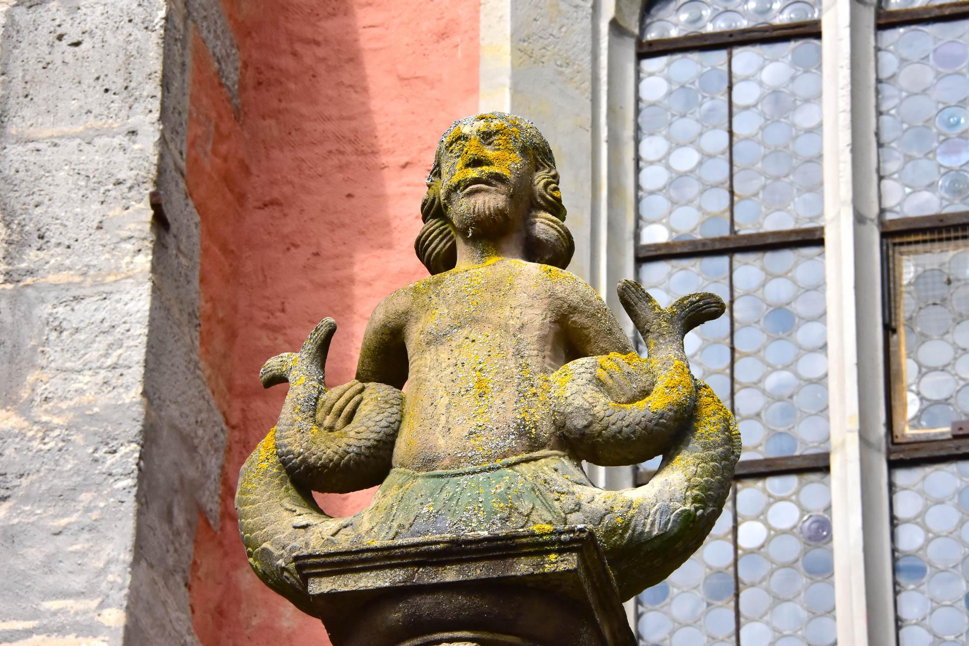 Merman Statue