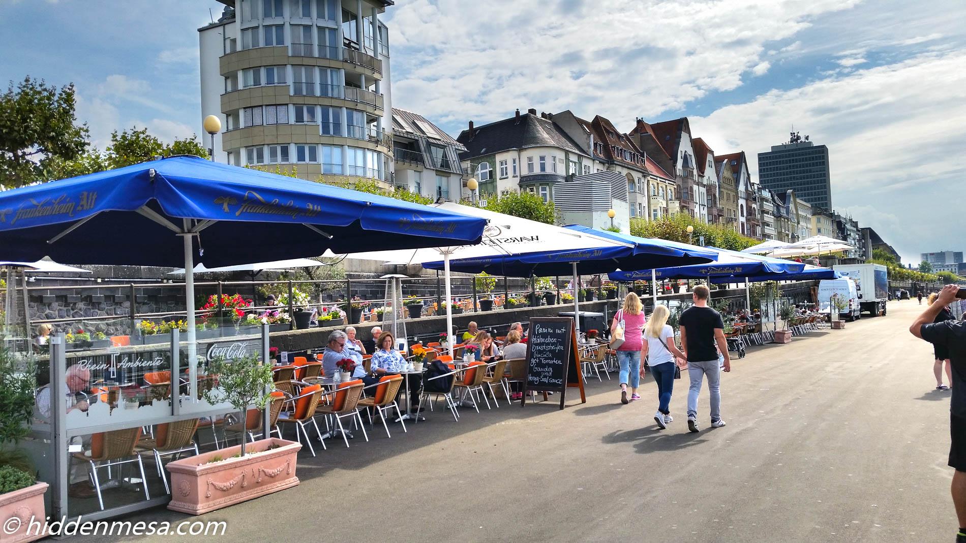 Outdoor Cafes, AltStadt, Dusseldirf