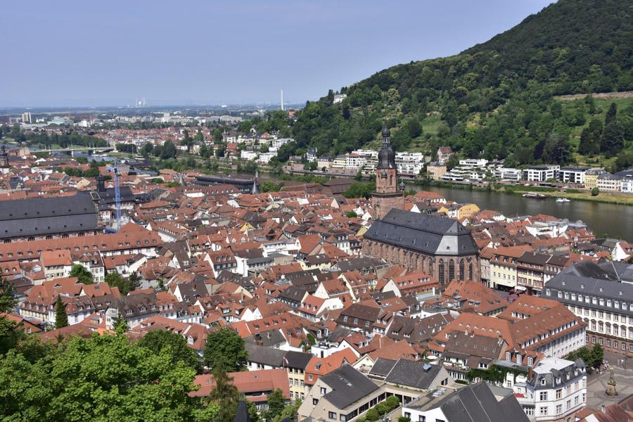 View of Heidelberg
