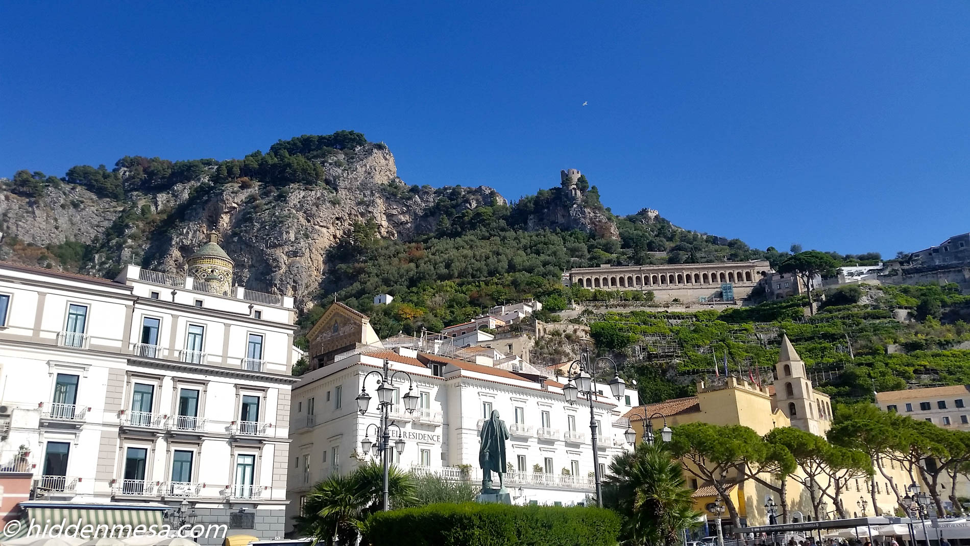 Amalfi from the Street
