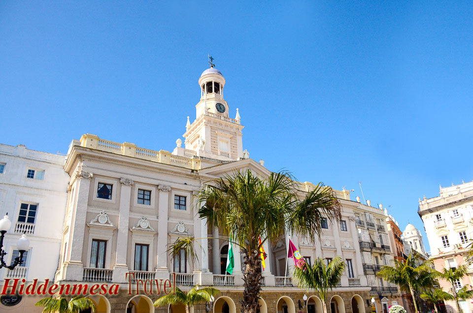 City Hall Cadiz Spain