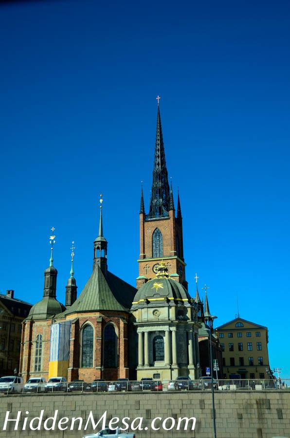 Church in Stockholm Sweden