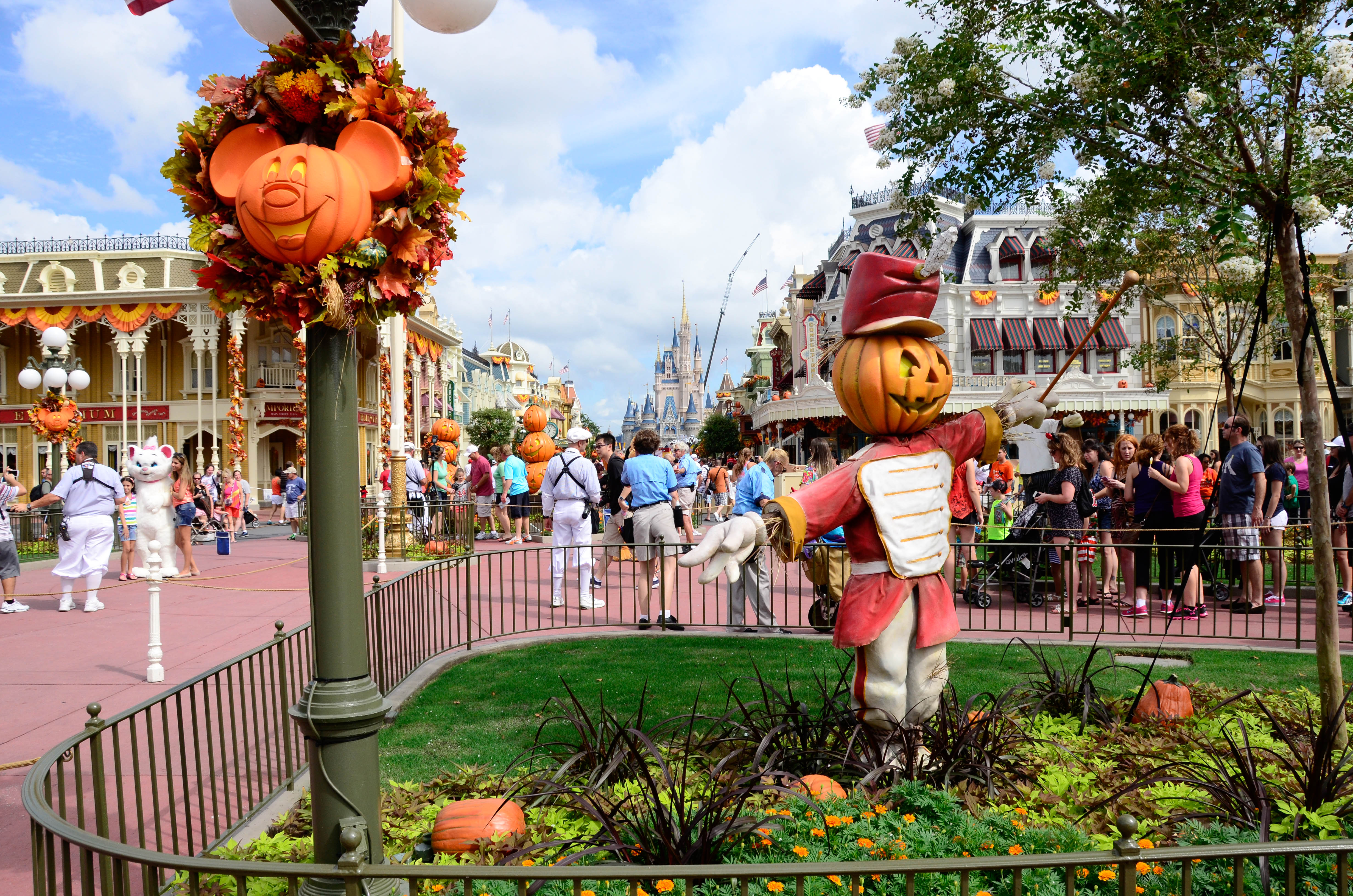 Halloween Arrives at Magic Kingdom