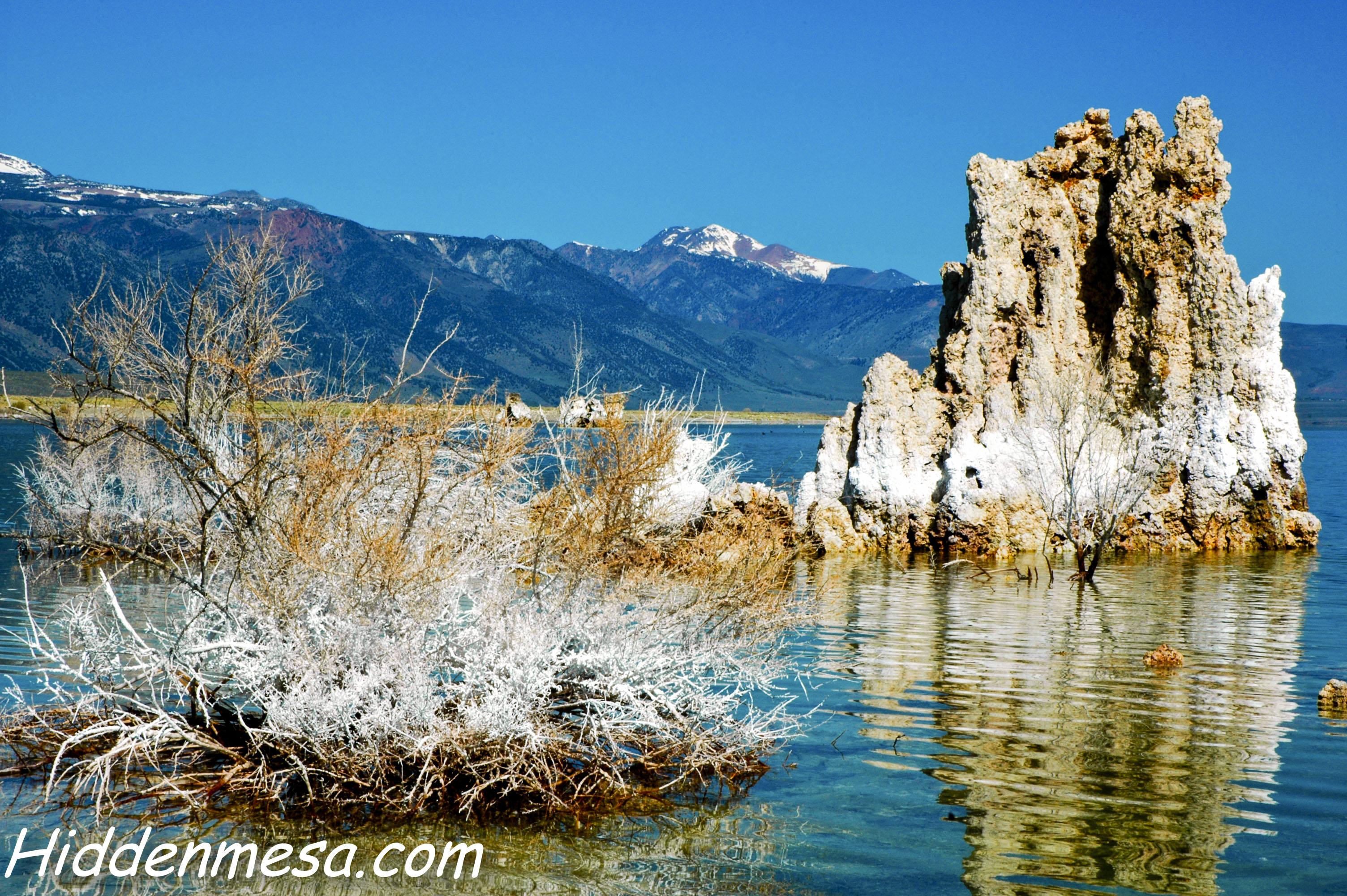 Mono Lake as a Winter Destination