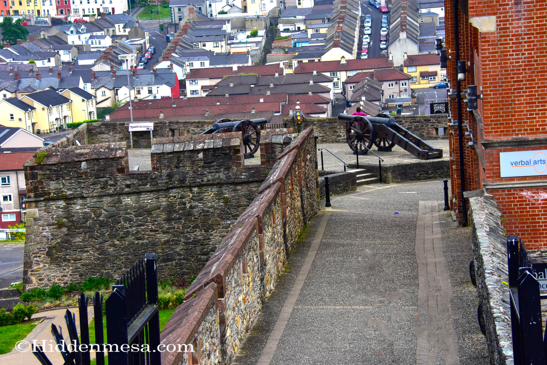 Walking the Derry Wall