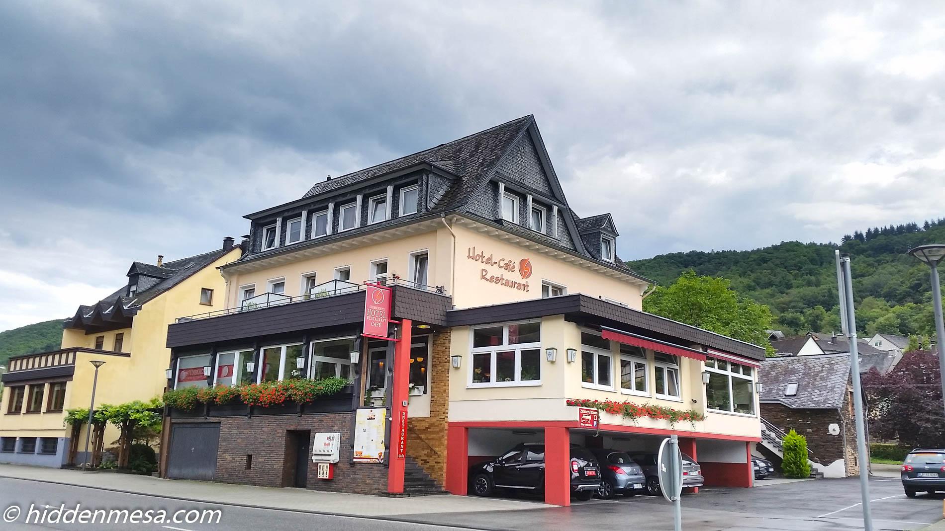 Stumberger's Hotel in Cochem, Germany