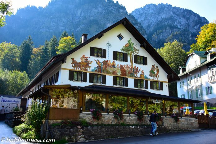 Bavarian Building in Schwangau