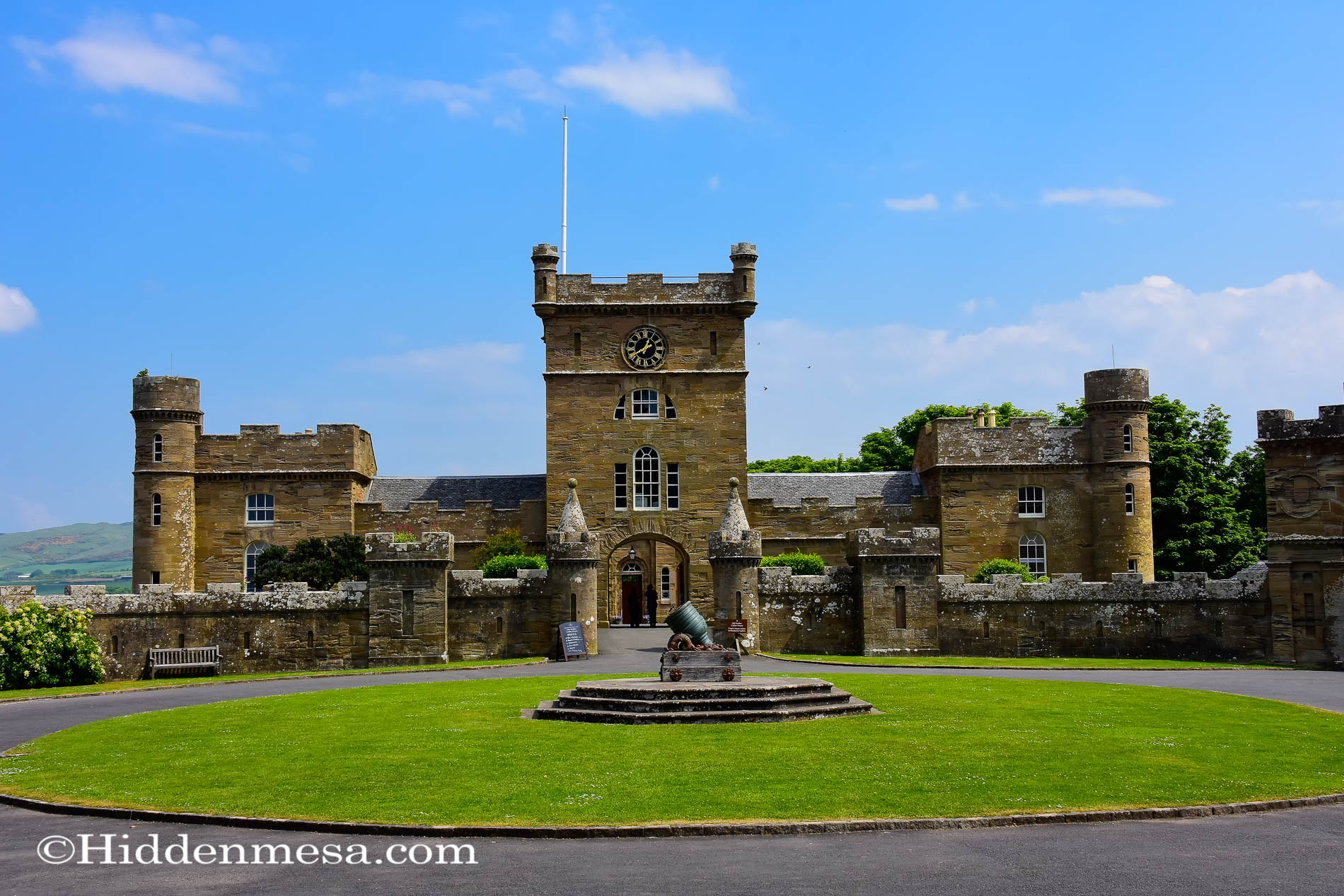 Visiting Culzean Castle