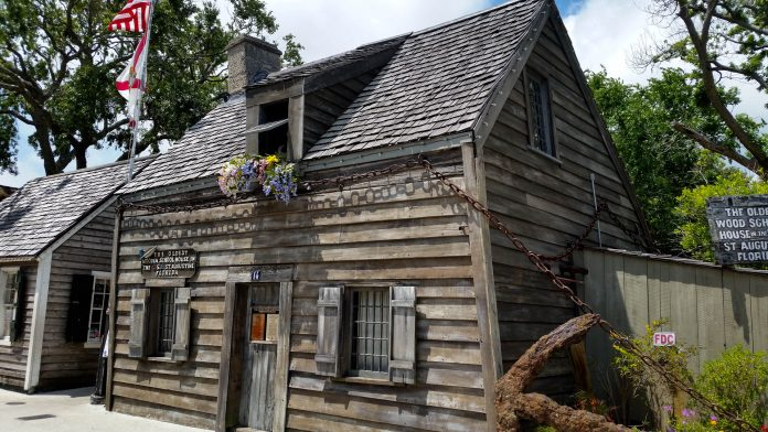 Old Wooden Schoolhouse