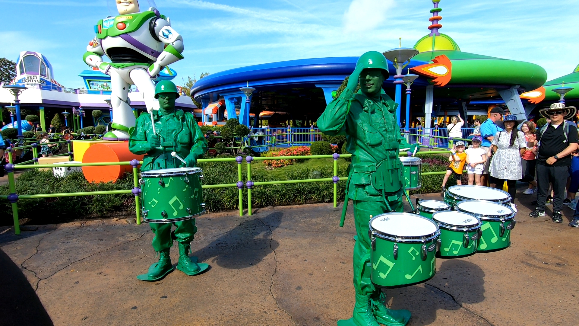 The Green Army Drum Corps